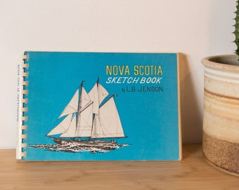 Nova Scotia Sketchbook Paperback – 1973 by Jenson (Author) Second Edition, Ninth Printing