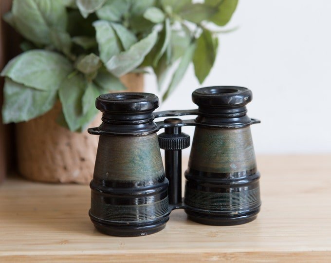 Vintage Opera Glasses - Small Binoculars - Victorian / Edwardian Decor