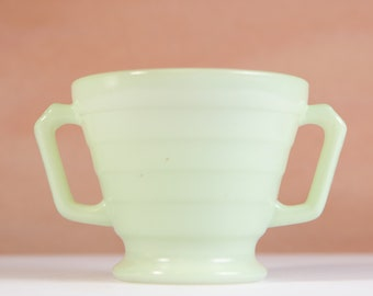 Vintage Mint Green Graduated Cup with 2 Handles