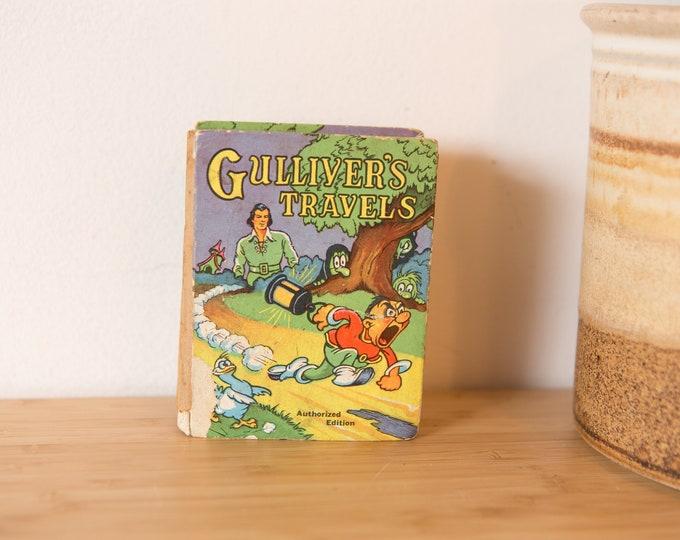 1939 Gulliver's Travels - Vintage Children's Book Big Little Book