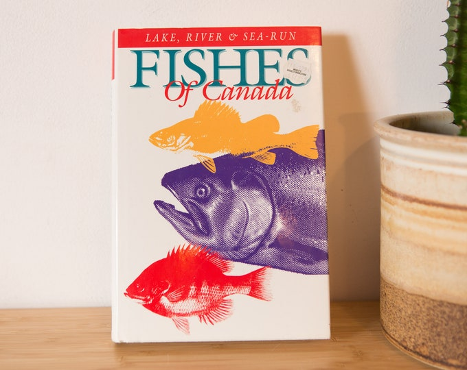 Fishes of Canada - Harbour Publishing - by Frederick H. Wooding - 1994