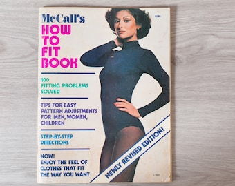 McCall's How to Fit Book - Sewing Book - Stitching Guide Patterns