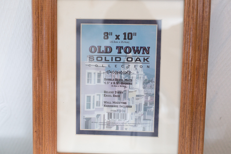 Solid Oak Frame Wood Frame For Prints Artwork Painting Pictures