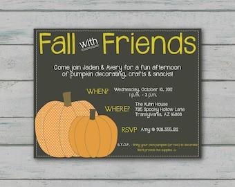 Fall Party Invitation