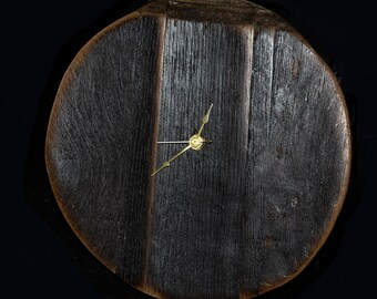 Reclaimed Wine Stave Clock 3