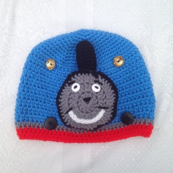 Thomas der Zug-Hut häkeln Kinder Thomas Hut Baby | Etsy