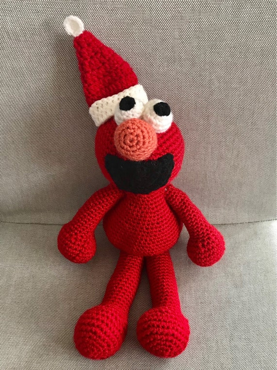 Elmo Crochet Pattern-STP-354 | 760x570