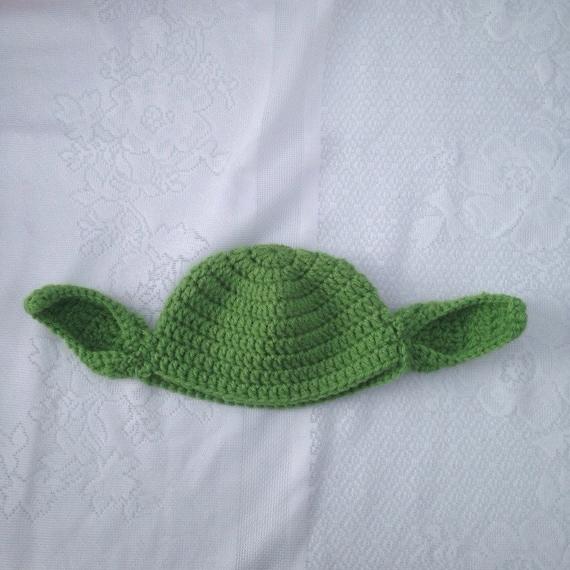 Häkeln Sie Yoda-Hut Star Wars Yoda Kostüm Hut Kinder Star   Etsy