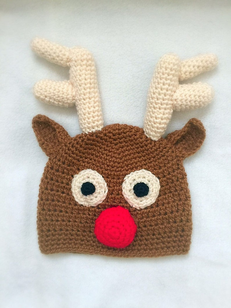 2116adf01018c Rudolph Reindeer Hat Kids Costume Toddler Costume Baby