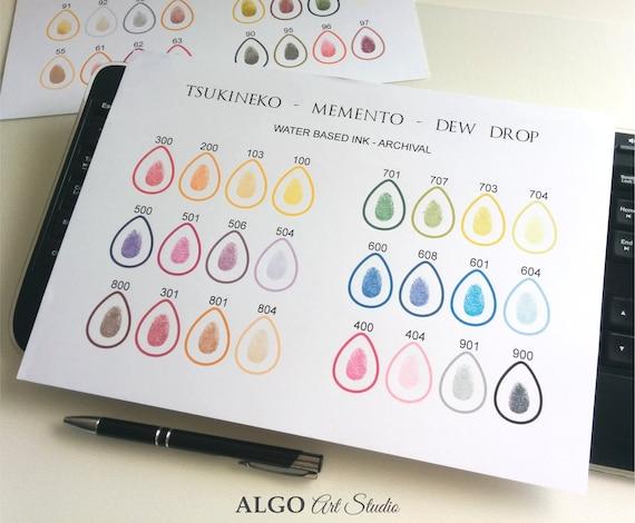Ink Pad Ink Pads For Fingerprints Memento Dew Drop Ink Pad Fingerprint Ink Pad Ink Pads For Thumbprint Guest Book Wedding Ink Pad