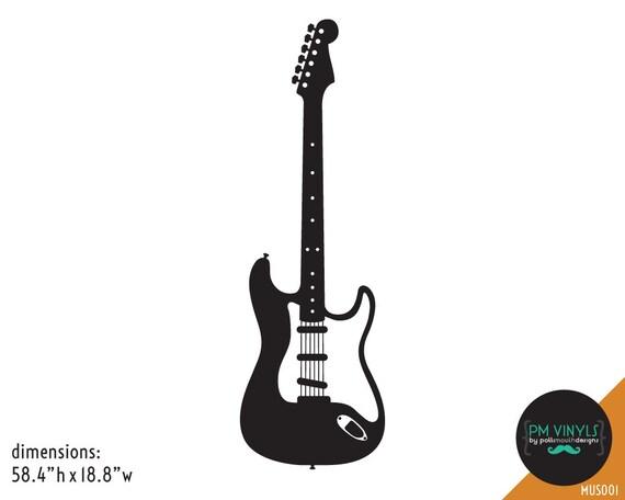 MUS007 Gibson Explorer Guitar Vinyl Wall Decal