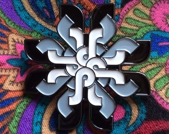 V.1 Pretty Lights Mandala Hat Pin