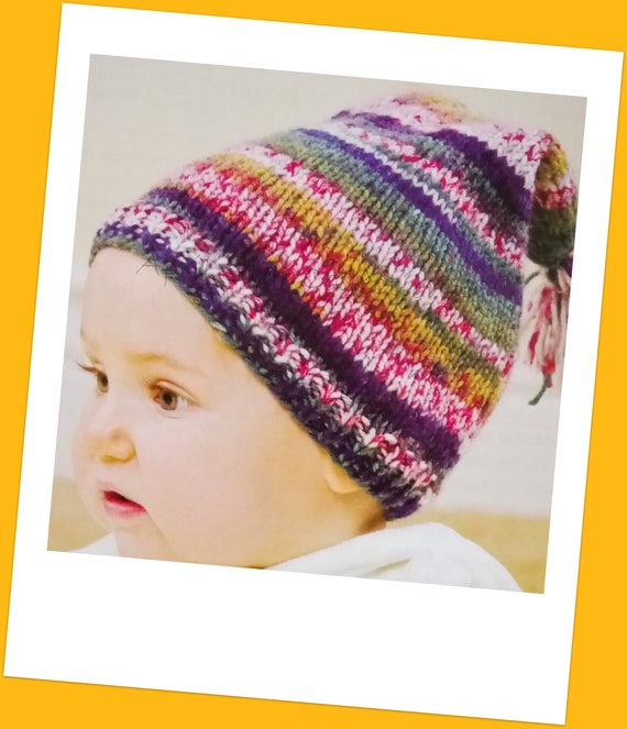 Baby stocking cap knitted baby hat baby hat baby wool hat  5e3dc9684f6