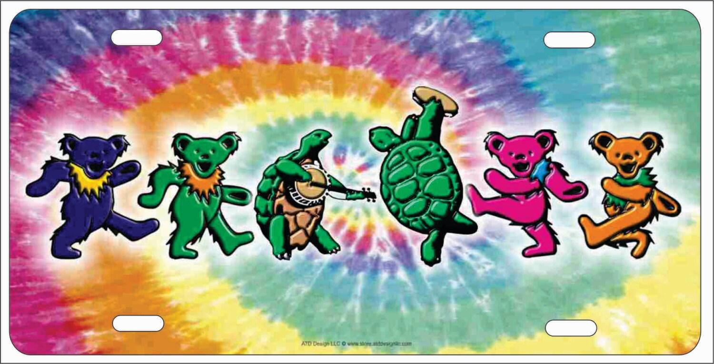 Tanzende Schildkröte Schildkröten und Iko Bären auf Krawatte | Etsy