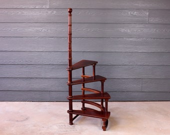 Astonishing Library Step Stool Etsy Gmtry Best Dining Table And Chair Ideas Images Gmtryco