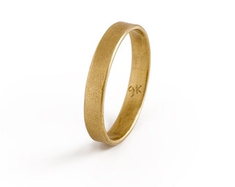 Mens  Wedding Band, Simple Gold Mens  Ring, Solid Gold Ring, Size 8, Size 9, Size 10, Men Ring, Mens Classic Gold Wedding Band
