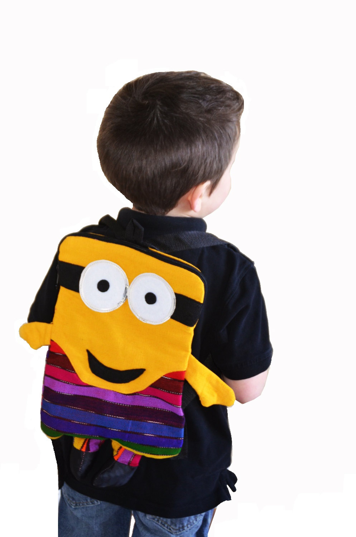 Children/'s backpack Multicolored backpack kids Guatemala