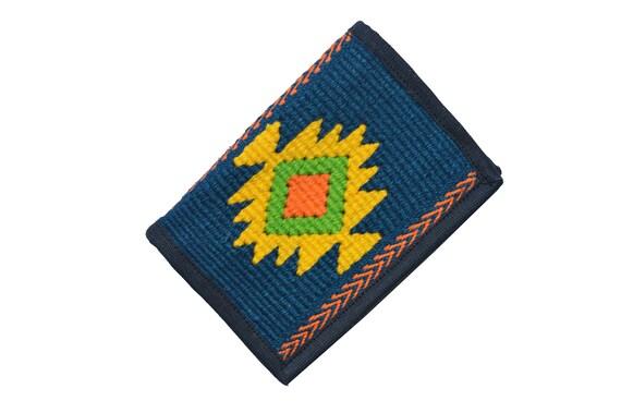 Guatemala Guatemalan Unisex Handmade Woven Three Folded Trifold  Wallet
