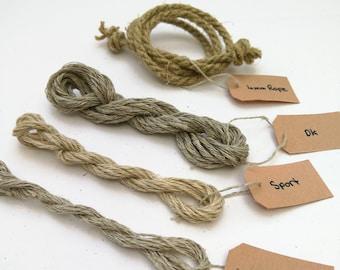 Hemp Yarn / Rope Sample