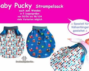 Strampelsack*Pucksack* in den Gr.50//56 bis 86 neu Handmade