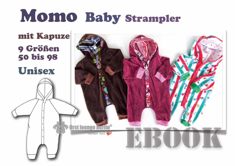 Momo *** Strampelanzug Strampler Body eBook PDF-Datei Nähanleitung ...