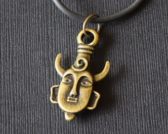 Samulet Pendant - Supernatural Inspired Pendant Necklace - Bronze-Tone - Occult - Protection - Pagan - Wiccan - Cosplay