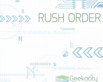 RUSH ORDER - Express Shipping Option - Priority Processing Orders - Please Contact Us Prior to Ordering