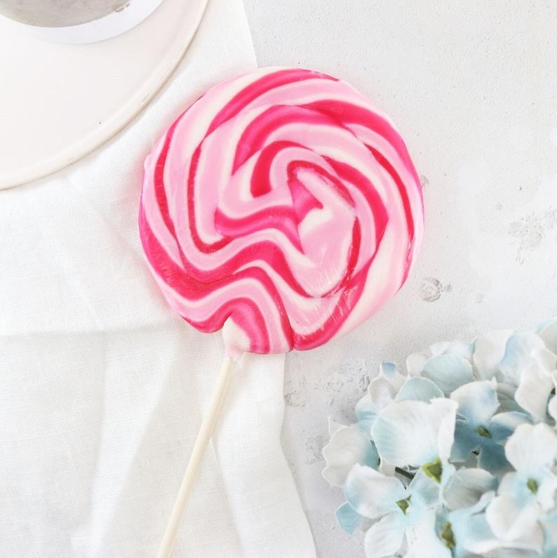 Alcoholic Raspberry Prosecco Lollipop  Prosecco Gift  Boozy image 0