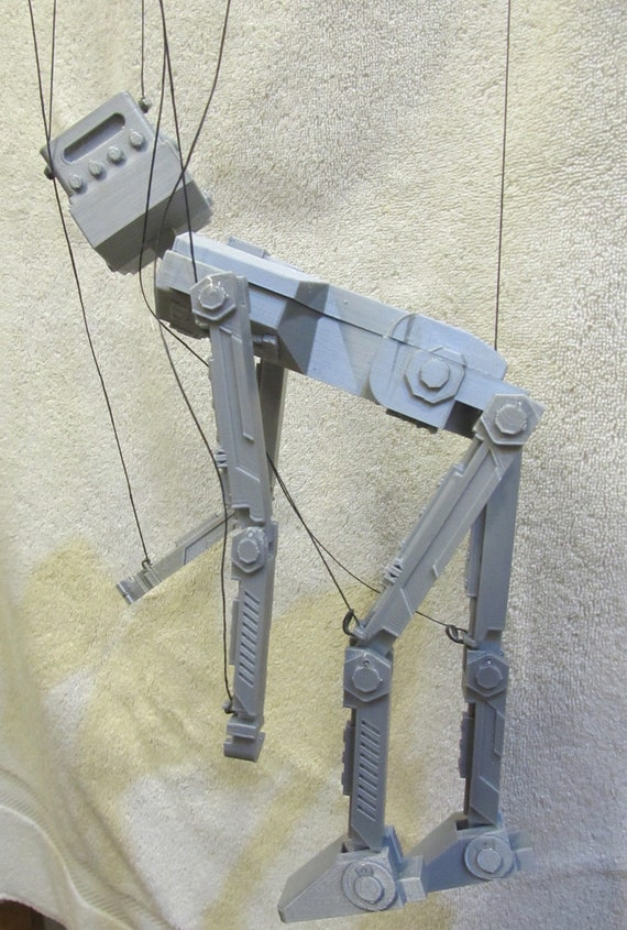 """ROBOT Marionette Puppet 14.5"""" and controller with 27/"""" strings"""