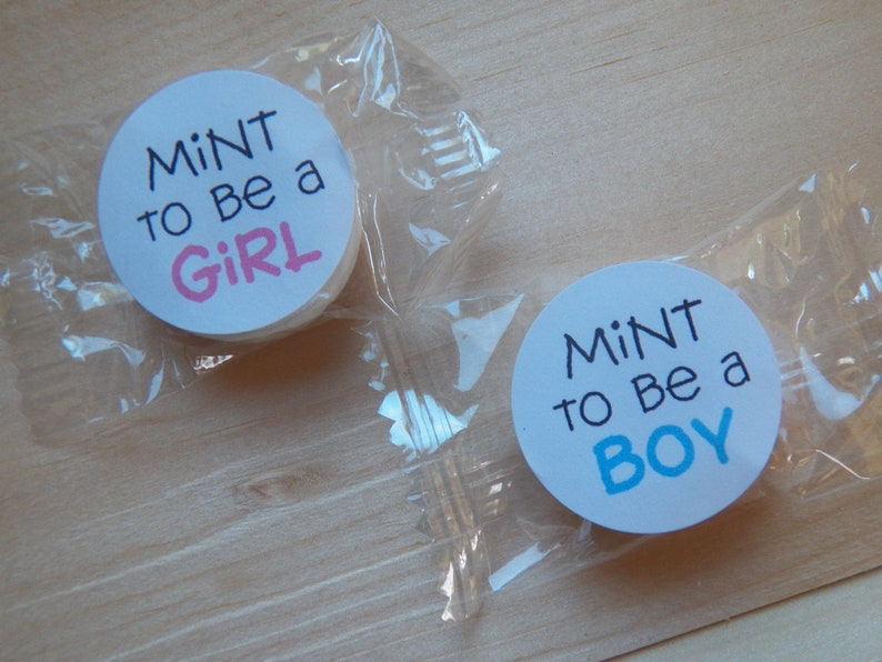 Mint to Be Baby Shower Favors Baby Shower Favors Baby Shower Table Decor Gender Reveal Favors