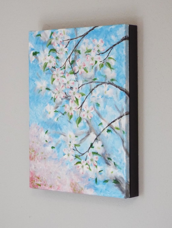 Painting Abstract Design Nouveau Two Women Flowers Floral 12X16 Framed Art Print