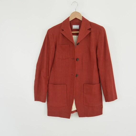 Lat Naylor Think Tank Linen Pant Suit High End De… - image 9