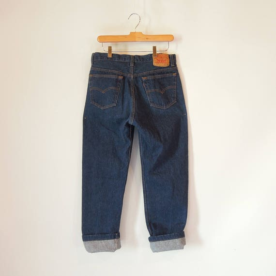 Levi's 501 Button Fly jeans 1980's 33/29 Altered S