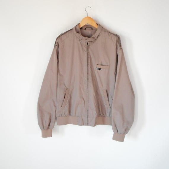 Members only jacket Racer Jacket Tan Classic 80's