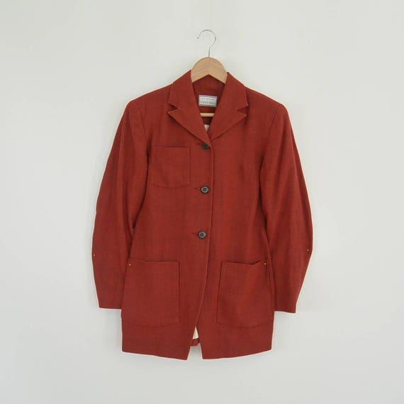 Lat Naylor Think Tank Linen Pant Suit High End De… - image 4