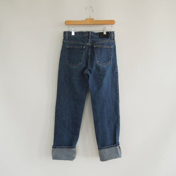 Calvin Klein Button Fly Low Rider 90's jeans Charc