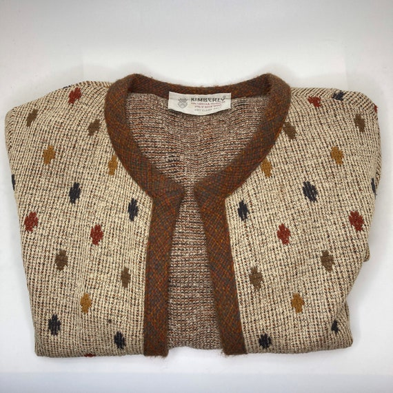 Vintage 50s Kimberly cardigan, size 12