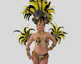 Bikini bra carneval dance karneval samba