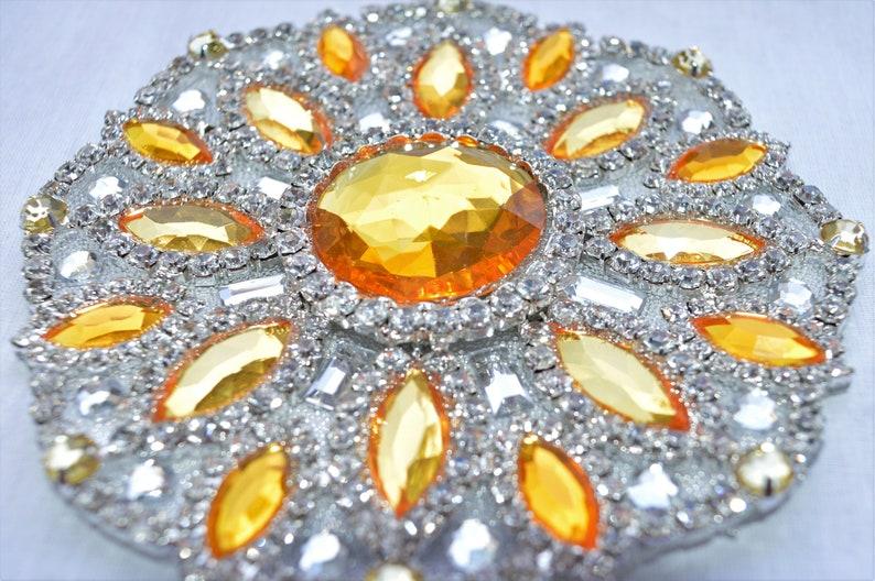 Samba Bra Bikini  Set 4 colors Silver with necklace Crystals OrientaleBelly Dancecarnival SAMBA costume Waistband BRA CabaretShow girl