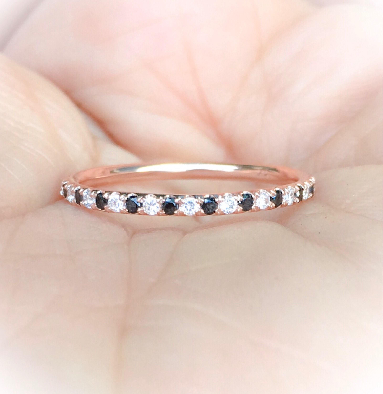 14K or 0.13 ct véritable diamant unique ouvert cadeau d/'anniversaire anneau Fine Jewelry