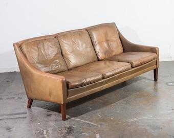 Mid century modern sofa | Etsy