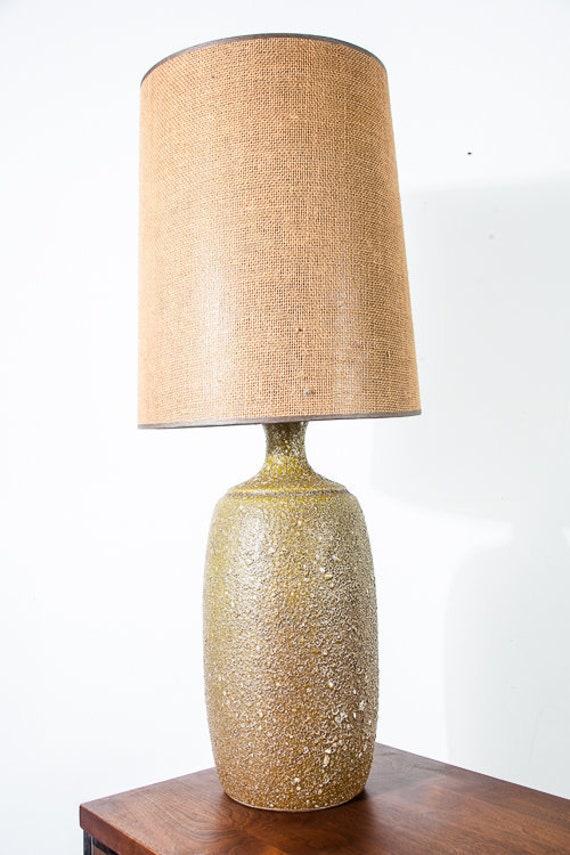 Mid Century Modern Table Lamp Floor Avocado Green Light Etsy