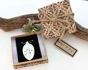 Zodiac Necklace - Custom Constellation - Silver Spoon Pendant - Vintage Jewelry Birthday Gift for Her - Aries Libra Virgo Leo Cancer Taurus