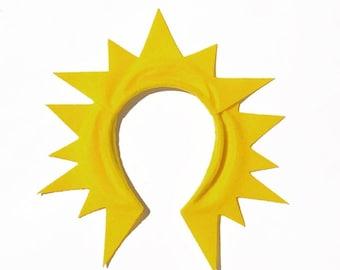 Sunshine Sun Rays Headband or yellow tutu birthday party favors kid children child adult toddler baby babies Stocking Stuffer Christmas Gift