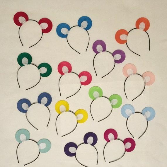 1 Quantity Teddy Bear Theme Ears Headbands Birthday Party Etsy