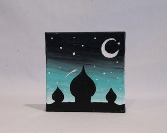Midnight Palace Mini Canvas
