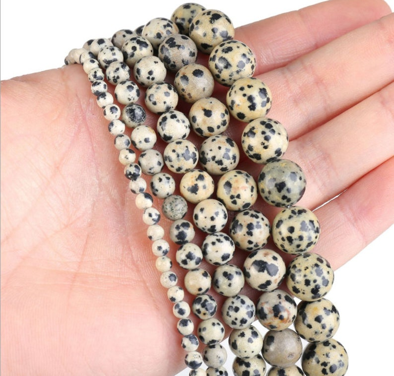 Wholesale 5 strands Natural Beads 4mm 6mm 8mm 10mm 12mm Wholesale Round Gemstone 15.5 Full Strand mala stones