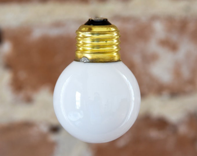 Our Standard Modern Style Bulb Used in Photos Emits WARM 2700K Light
