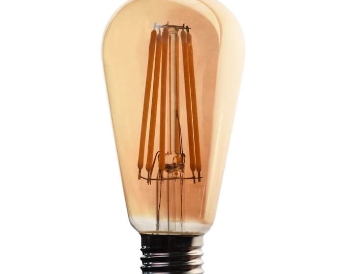 4.5W LED Edison Bulb 400 Lumens 40 Watt Equivalent, Fully Dimmable, For Fixture Customers Only