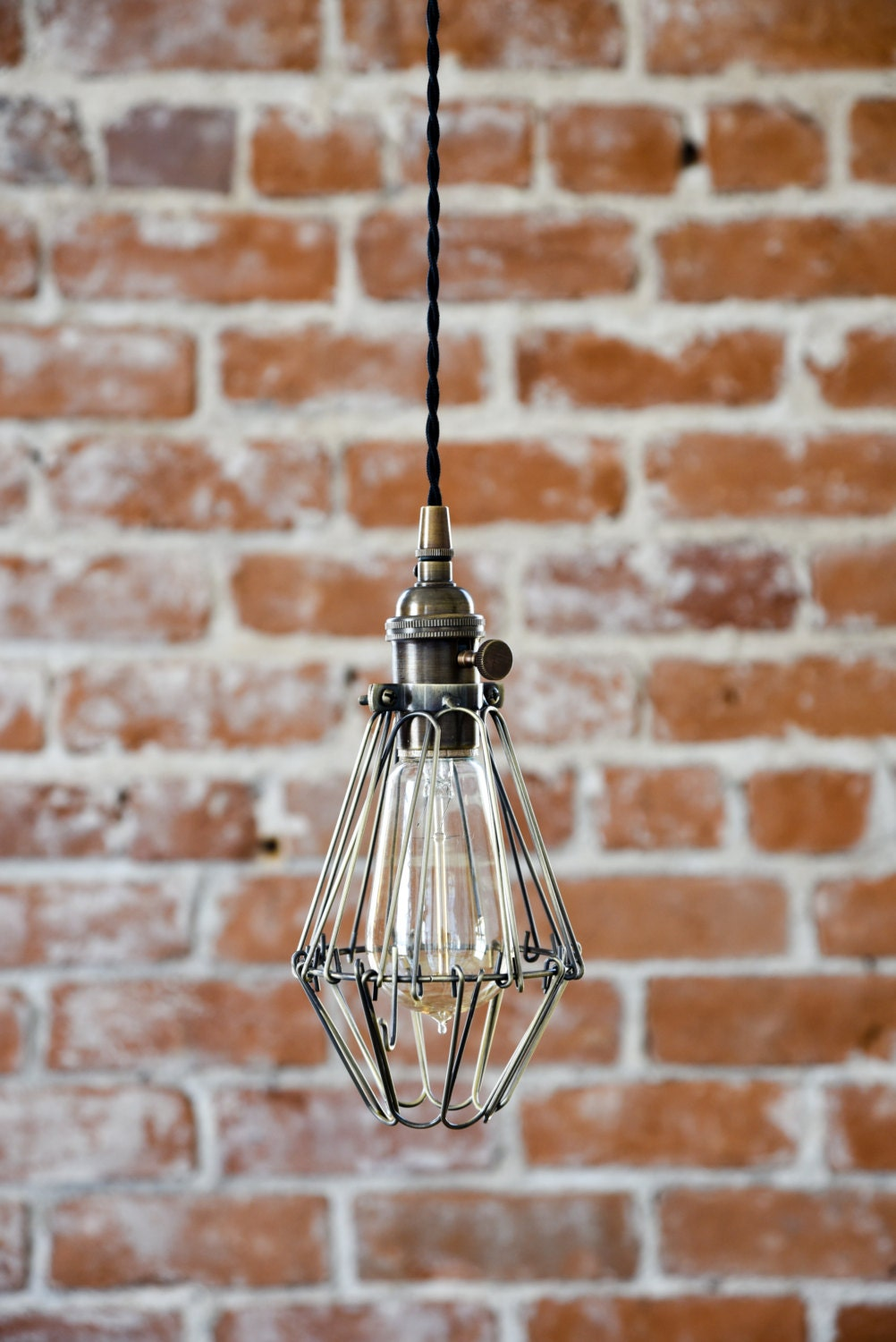 pendant light antique brass mid century modern industrial rh illuminatevintage com Wiring a Ceiling Light Fixture Basic Ceiling Light Wiring Diagram